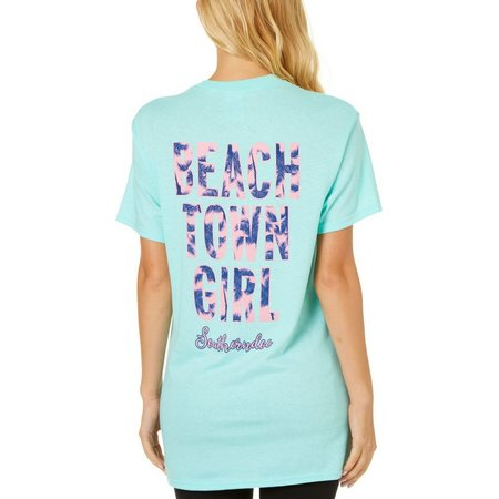 Southerndoe Juniors Beach Town Girl T-Shirt