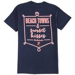 Southerndoe Juniors Beach Towns & Sunset T-Shirt
