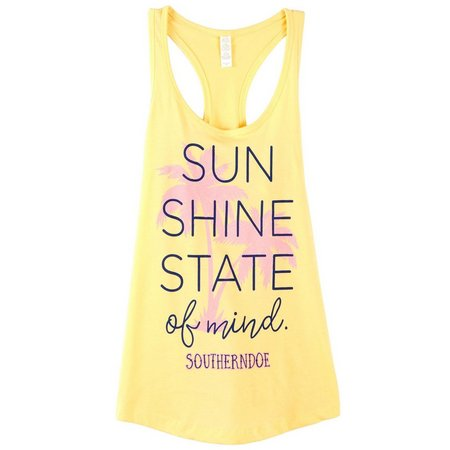 New! Southerndoe Juniors Sunshine State Tank Top