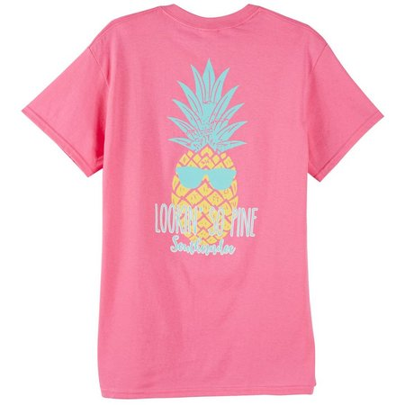 Southerndoe Juniors Pineapple Print T-Shirt