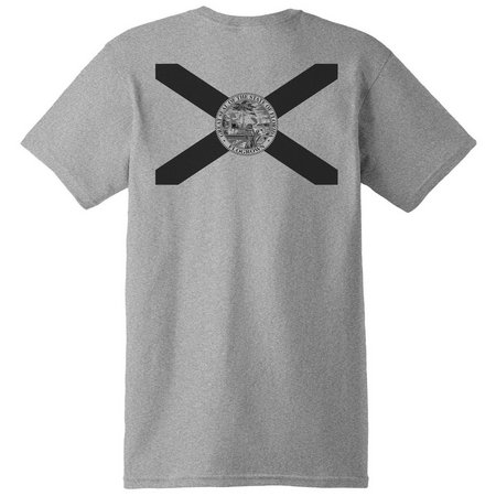 FloGrown Mens Blacked Out Flag T-Shirt