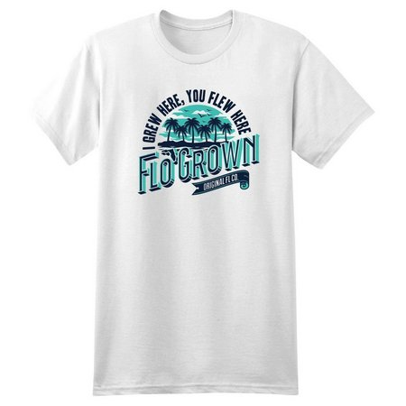 New! FloGrown Mens I Grew Here T-Shirt