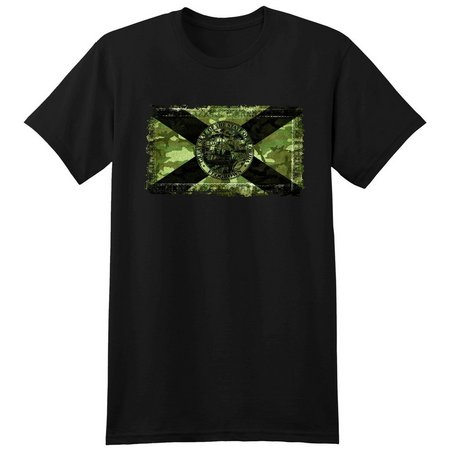 FloGrown Mens Camo Flag T-Shirt