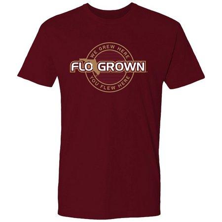 FloGrown Mens Grew Here Logo T-Shirt