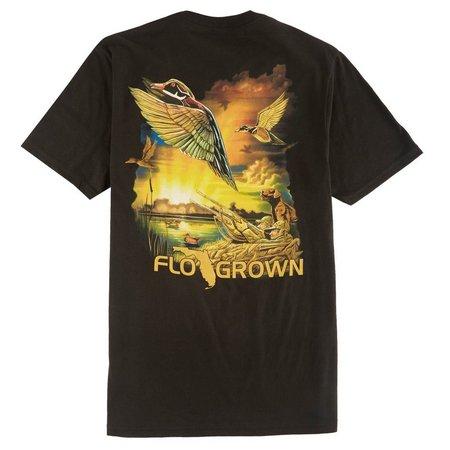 FloGrown Mens Duck Hunter T-Shirt