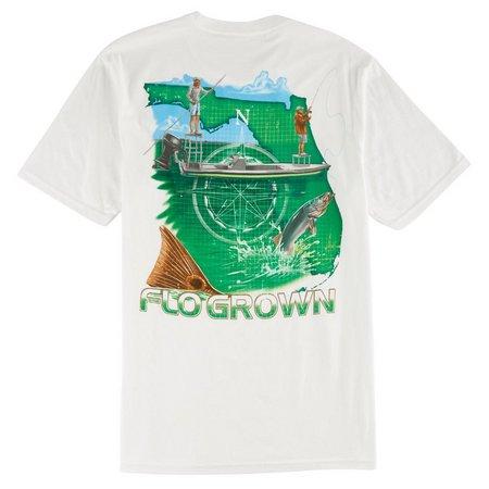 FloGrown Mens Flats T-Shirt