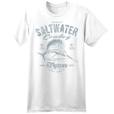 FloGrown Mens Saltwater Cowboy T-Shirt