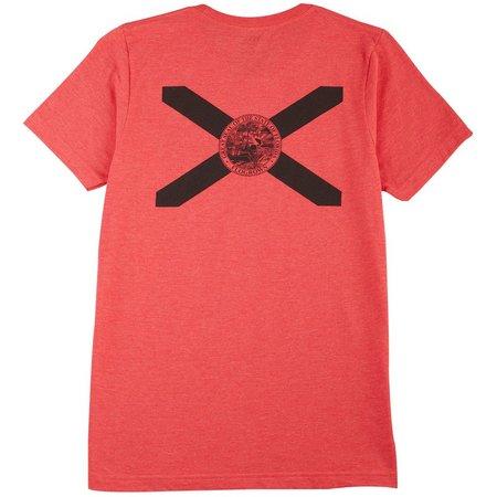 Flogrown Mens Black Out Heather T-Shirt