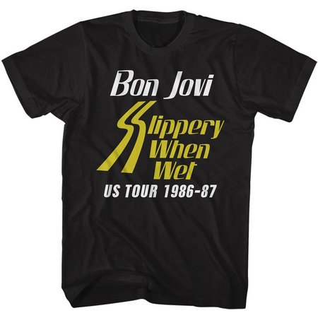 American Classics Mens Bon Jovi Tour T-Shirt