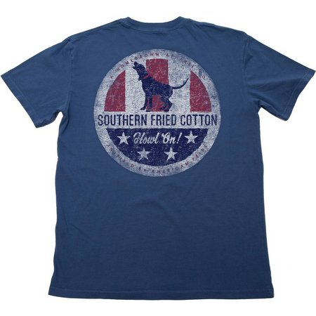 Southern Fried Cotton Mens Howl On T-Shirt