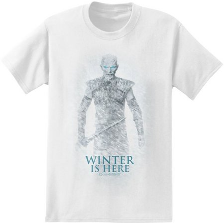 Game of Thrones Mens Winter Is Here T-Shirt