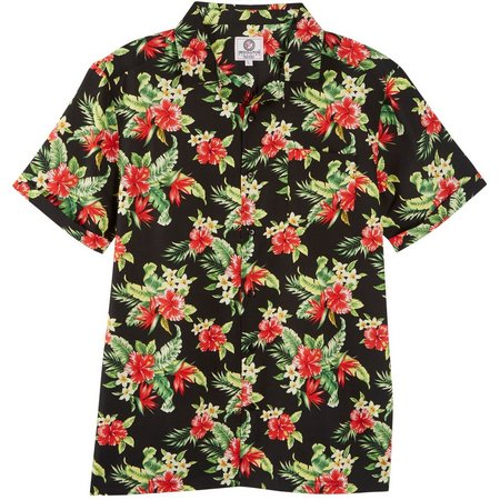 One Resolution Clothing Mens Floral Shirt