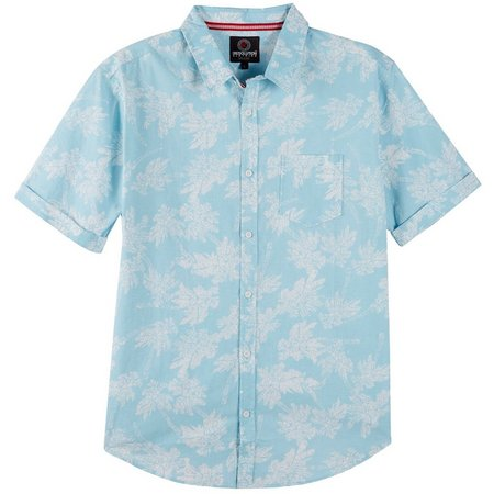 New! One Resolution Clothing Mens Palm Shirt