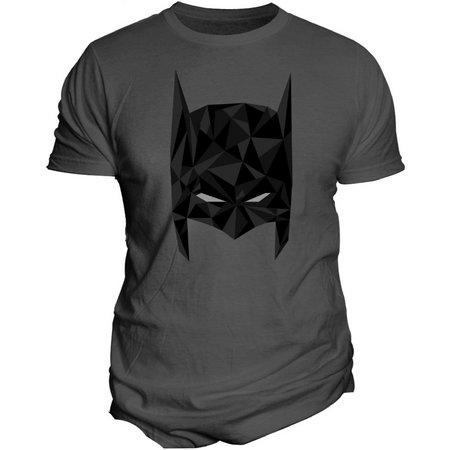 DC Comics Mens Batman Vector Mask T-Shirt
