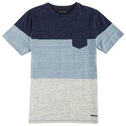 Ocean Current Mens Stripe Pocket T-Shirt
