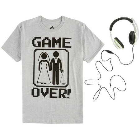 Audio Council Mens Game Over T-Shirt