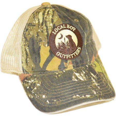 Local Boy Mens Camo Trucker Hat