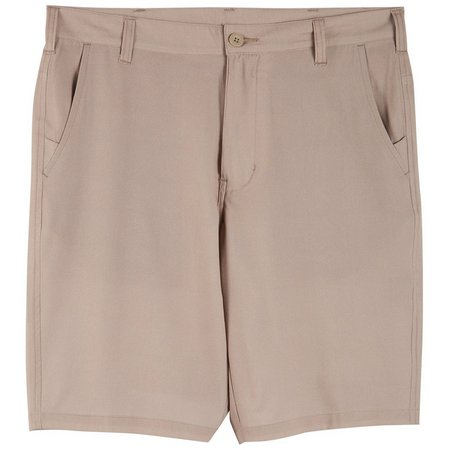 Burnside Mens Solid Pocket Hybrid Shorts