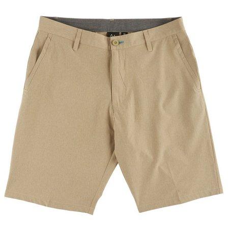 Burnside Mens Yarn Dye Hybrid Shorts