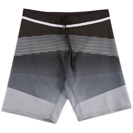 Burnside Mens Stripe Sublime Boardshorts