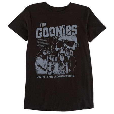 Bioworld Mens Goonies Join The Adventure T-Shirt