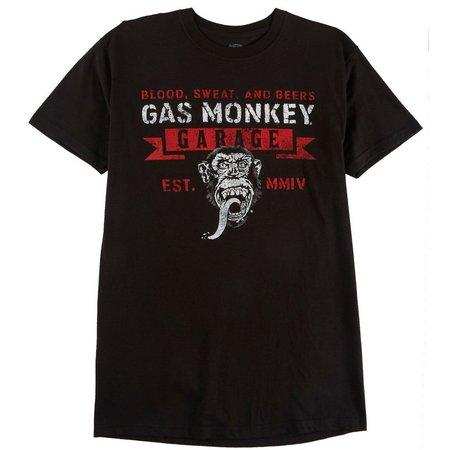 Gas Monkey Garage Mens Blood, Sweat & Beers