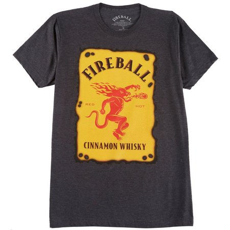 Bioworld Fireball Mens Cinnamon Whisky T-Shirt