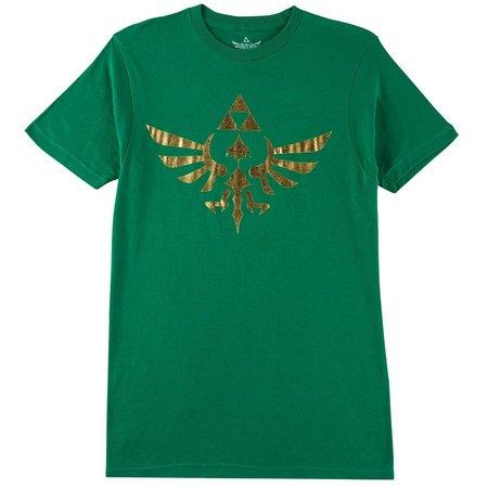 Legend Of Zelda Mens Gold Foil T-Shirt