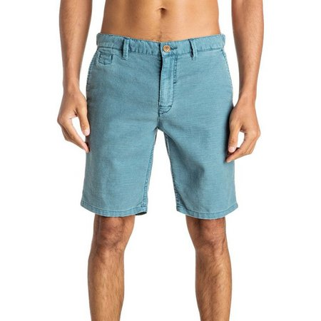 Quiksilver Mens Greenwood Cutty Chino Shorts