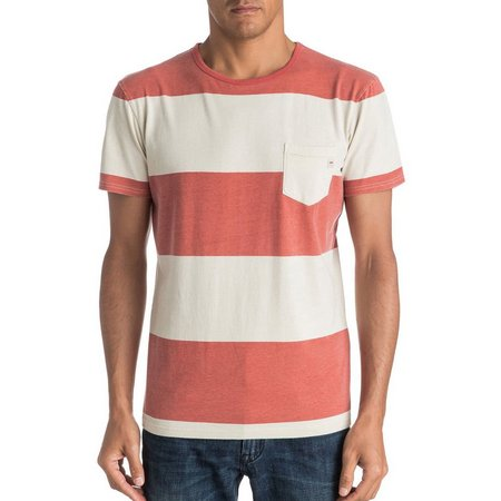 Quiksilver Mens Maxed Out Pocket T-Shirt