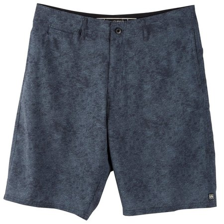 Ocean Current Mens Acid Wash Hybrid Shorts