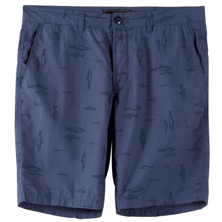 New! Ocean Current Mens Chilures Flat Front Shorts