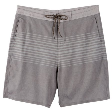 New! Burnside Mens Grey Classic Boardshorts