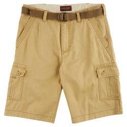Wearfirst Mens Herringbone Cargo Shorts