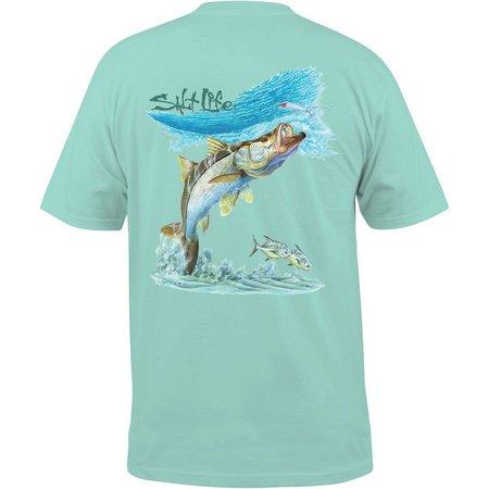 Salt Life Mens Surf Snook T-Shirt