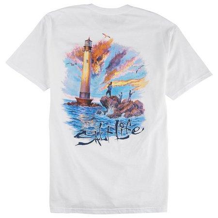 Salt Life Mens Jetty Light T-Shirt