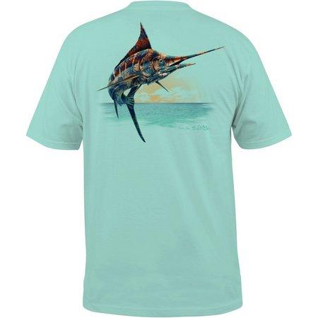 Salt Life Mens Marlin Paradise T-Shirt