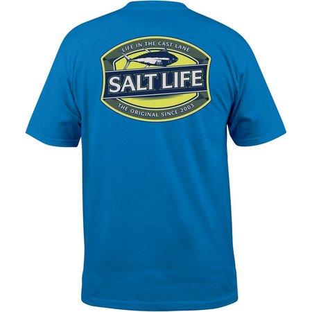 Salt Life Mens Life In Cast Lane Pocket