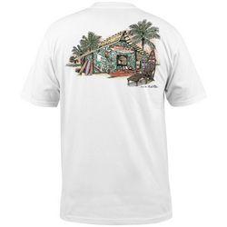 Salt Life Mens Sharkey's Boards & Beers T-Shirt