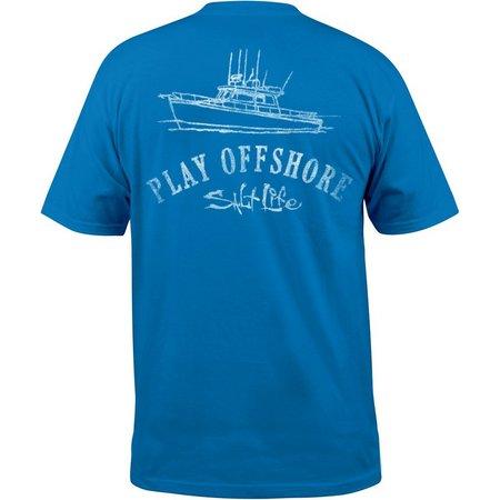 Salt Life Mens Play Offshore Pocket T-Shirt