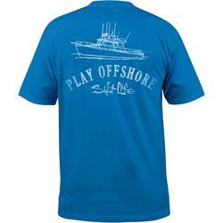 New! Salt Life Mens Play Offshore Pocket T-Shirt