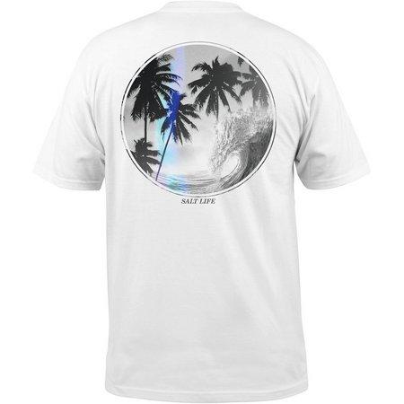 Salt Life Mens Palms Barrel T-Shirt