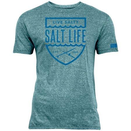 Salt Life Mens Ocean Crest Tri-Blend T-Shirt