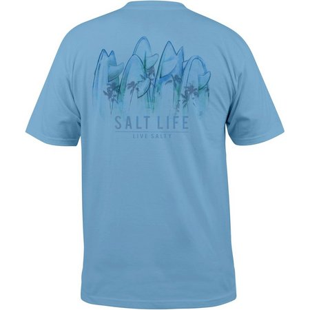 Salt Life Mens Palms Aboard T-Shirt