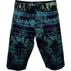 Salt Life Mens Blue Sunset Palms Boardshorts