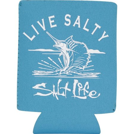 Salt Life Live Salty Can Cooler