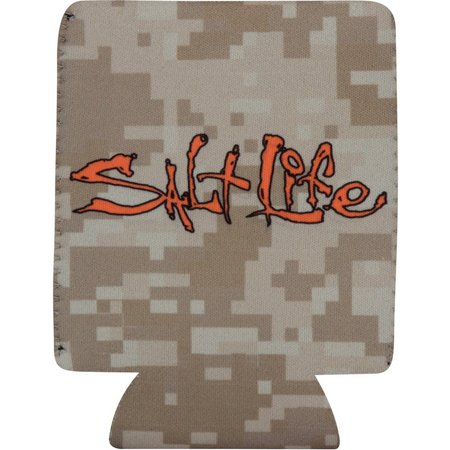 Salt Life Digital Camo Can Cooler