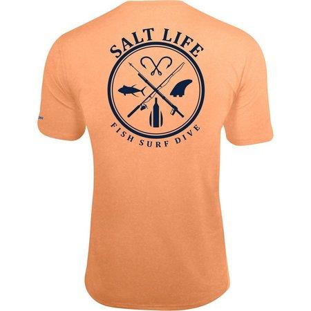 Salt Life Mens Fish Surf Dive T-Shirt
