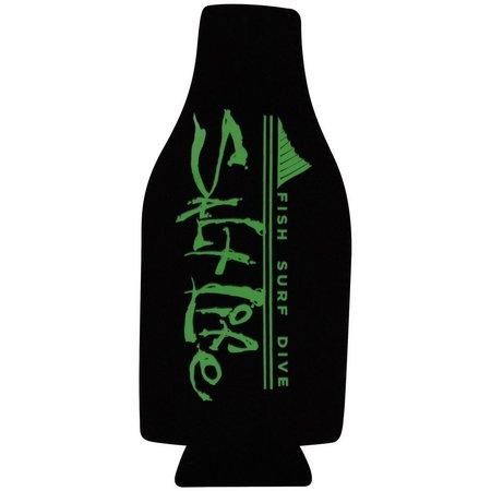 Salt Life Black Fin Forward Bottle Cooler