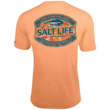 Salt Life Mens In The Cast Lane Pocket